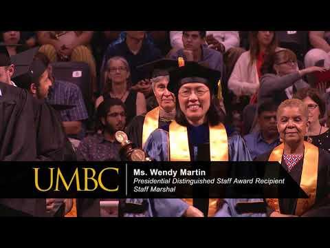 UMBC Undergraduate Commencement Spring 2018 (CNMS, COEIT, INDS)