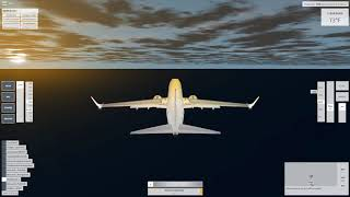 Ryanair Landing vs Normal Landing - VFS ROBLOX