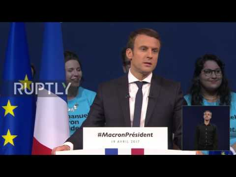France: Macron condemns Le Pen's response to 'pre-election attack'
