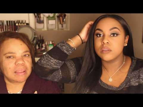 Makeup on my Haitian Mother + Chit Chat