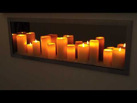 Sogno Candle LED Fireplace - YouTube