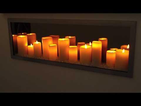 Sogno Candle LED Fireplace