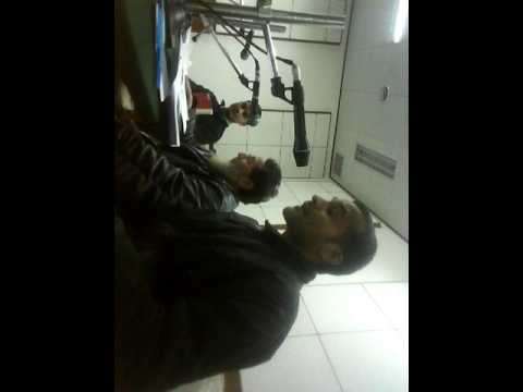 Poet Haresh kumar Mani is reading bhaderwahi poems during recording at AIR bhaderwahi