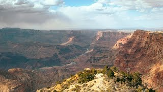 Bright Angel Trail, Grand Canyon National Park (360 Video) | Sunset