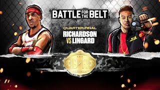 Jesse Lingard vs Josh Richardson: Battle for the Belt Quarter-Final 1