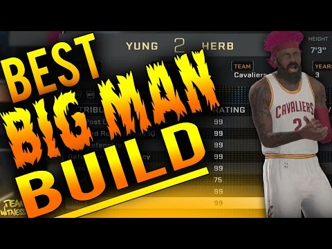 NBA 2K16 Tips: Best BIG MAN Build - How To Create A UNSTOPPABLE 99 Overall CENTER In 2K16!