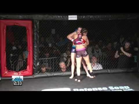 "Kai's BJJ / MMA Ozone Park Destiny ""The Cage Cutie""Quinones Vs Hilarie Rose NYFE 10 4/02/16"