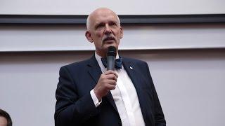 Janusz Korwin-Mikke w Ostro��ce - przem�wienie
