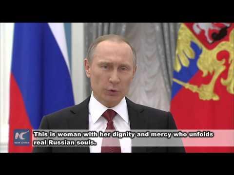 Putin delivers International Women's Day address
