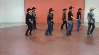 CALIFORNIA BLUE Line Dance - compte et danse
