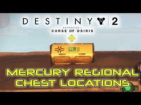 Destiny 2 Mercury Regional Chest Locations - Curse of Osiris DLC