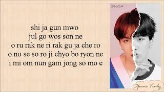 BTS (방탄소년단) Suga – Trivia 轉 : Seesaw (Easy Lyrics)