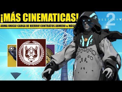 Destiny 2 Noticias: Contratos de Armero! Más Cinemáticas! Arma Única! Temporada Opulencia & Más! thumbnail