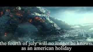 День независимости 2 трейлер с английскими субтитрами / Independence day 2 english subtitles