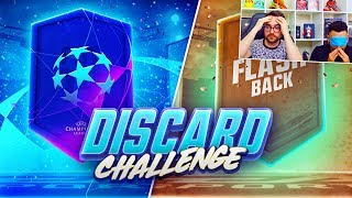PREMIUM UCL & FLASHBACK SBC DISCARD CHALLENGE!!! Fifa 19 Blindfold Guess Who