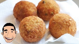 Sicilian Arancini | Homemade Italian Rice Balls Recipe | Italian Street Food