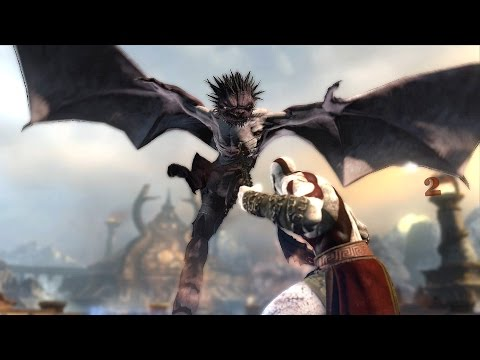 God of War Ascension Dragon Boss Fight + Chapter 10 The Temple of Delphi