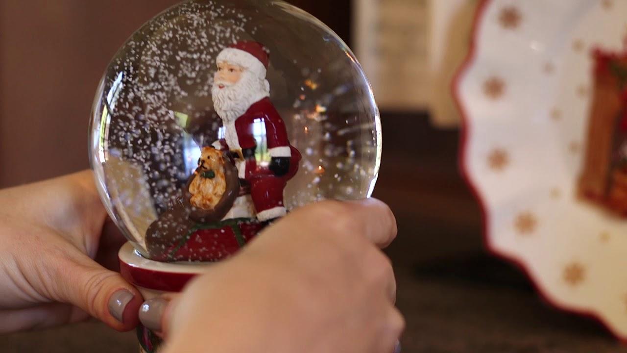 Festive Ornaments Celebrating Santa  Weihnachten  Villeroy /& Boch
