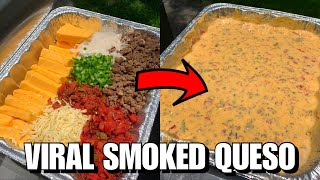 How to Make the VIRAL TikTok Smoked Queso Dip!!