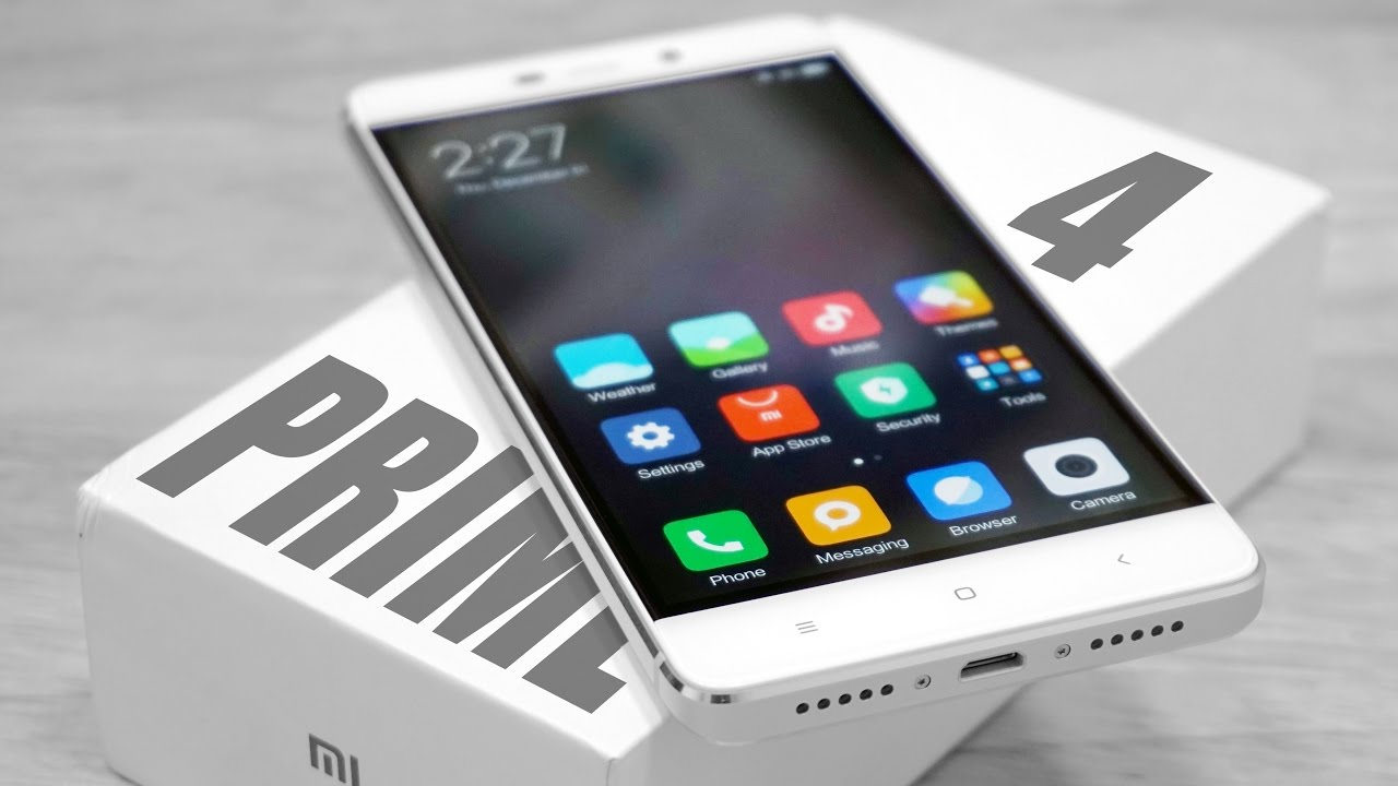 Xiaomi Redmi 4 Prime - Unboxing & Hands On! - YouTube
