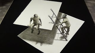Absurd & Impossible - Drawing an Anamorphic Illusion - Vamos