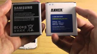 Samsung Galaxy S4 Extra Battery - 2600mah Anker Review