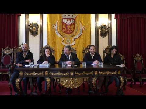 Início do plenário do Conselho Municipal de Juventude de Coimbra