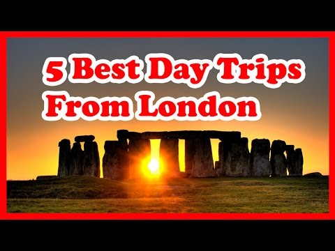 Top 5 Best Day Trips From London | England Travel Guide