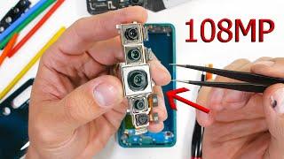 Download Cheap Xiaomi 108mp Camera vs The S20 Ultra? - TEARDOWN! Mp3 and Videos
