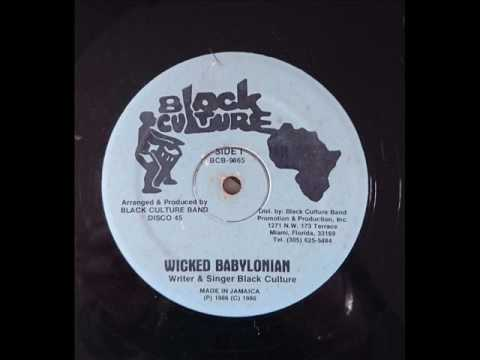 Black Culture - Wicked Babylonian