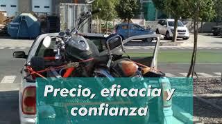 Servicios de grúa de moto.cl, transporte de motos y fletes en general.