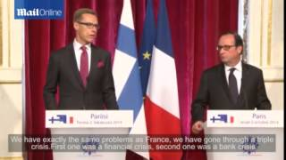 Economy on the agenda as Hollande meets...