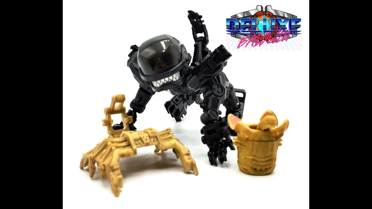 52Toys Megabox Alien Review by Deluxe Baldwin