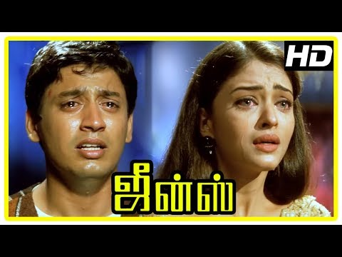 Jeans Movie Scenes | Prashanth decides to cancel wedding after learning the truth | Aishwarya