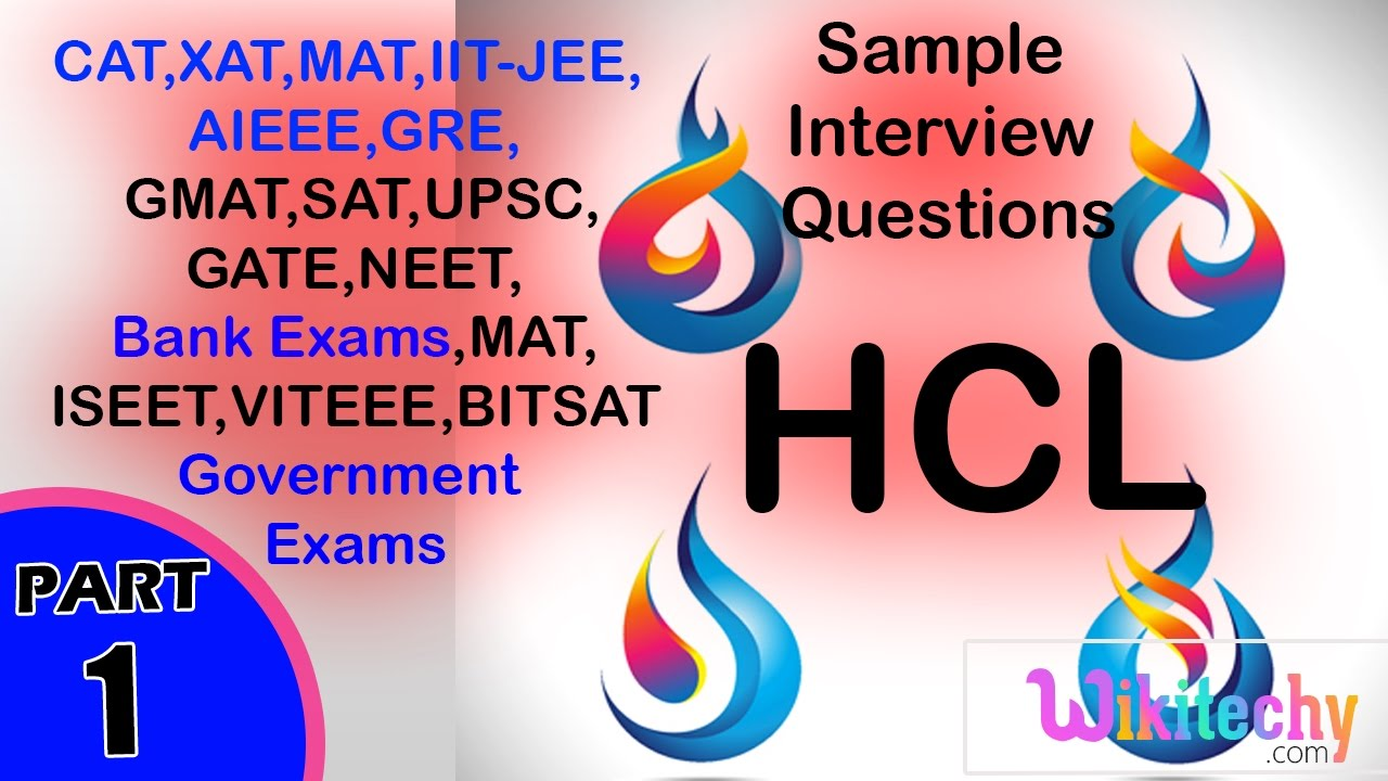 Hcl Interview Questions Apude Technologies You