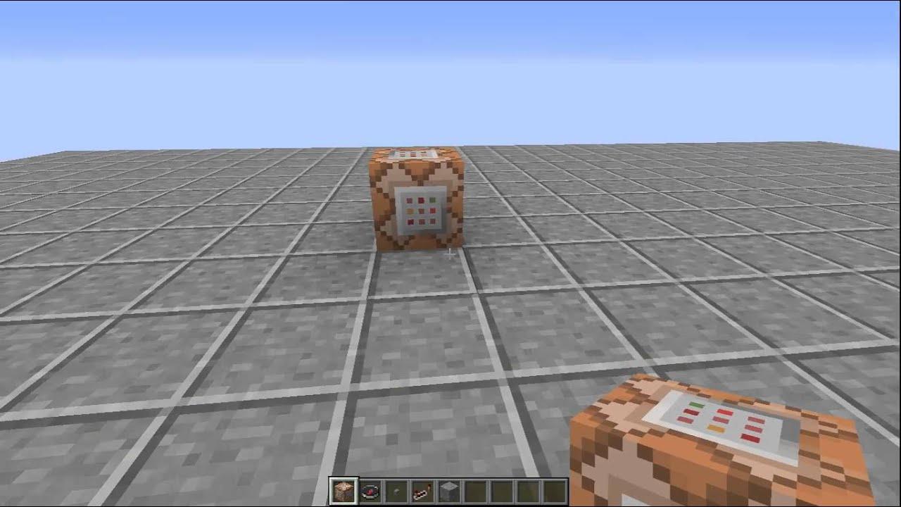 MInecraft Wie Kann Ich Mit Dem Command Block Teleportieren YouTube - Minecraft alle spieler teleportieren
