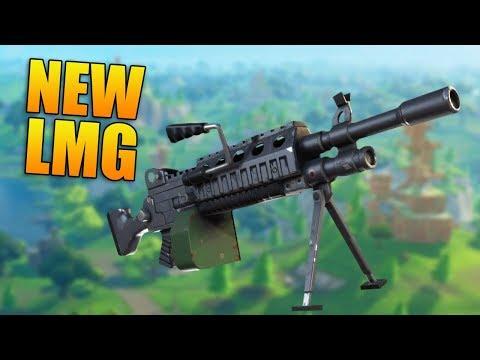 NEW LMG & 50v50 GAMEPLAY! - New  Fortnite Update  - Fortnite Battle Royale Gameplay thumbnail