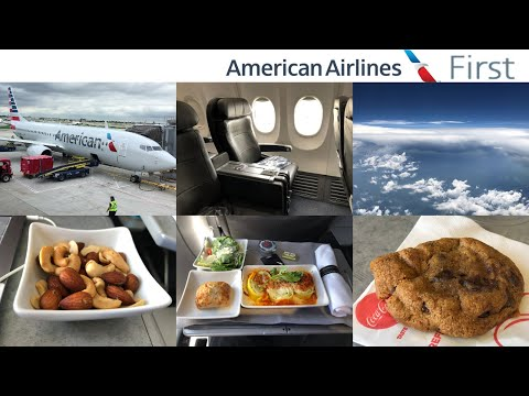 American Airlines FIRST Class: Chicago to Dallas