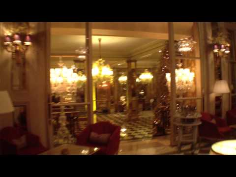 hotel de crillon paris youtube. Black Bedroom Furniture Sets. Home Design Ideas
