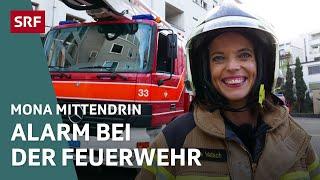 Mona Vetsch bei der Feuerwehr | Mona Mittendrin | Doku | SRF DOK