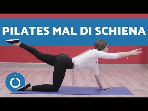 Pilates per mal di schiena: ESERCIZI – Lezione di pilates in ITALIANO