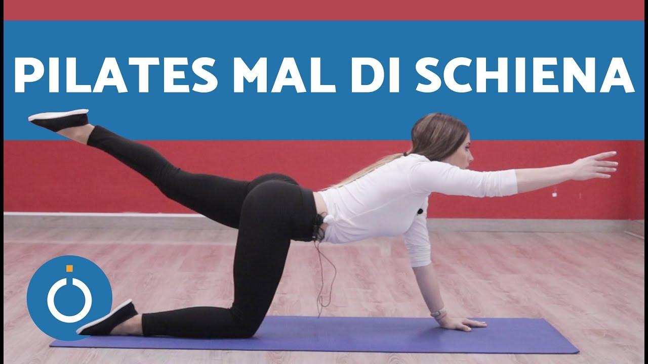 Pilates per mal di schiena: ESERCIZI - Lezione di pilates..
