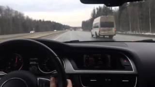 видео Audi A5 I Купе разгон до 100 км/ч и максимальная скорость. Ауди а5 разгон до 100