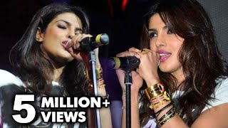Repeat youtube video Can Priyanka Chopra Really Sing ? | Priyanka Chopra's First Live Performance