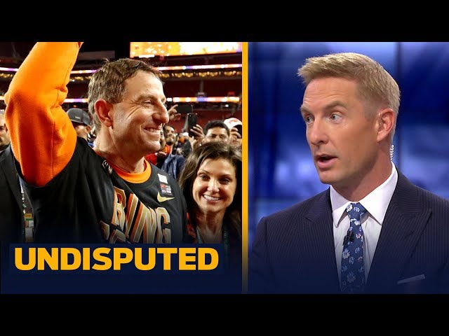 Joel Klatt: Nick Saban was 'thoroughly outcoached' in the National Championship | CFB | UNDISPUTED