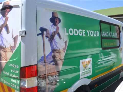 Radio advert on lodgement of land claims (Northern Sotho version)