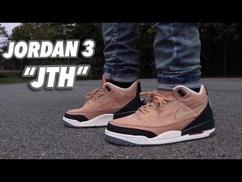 "Justin Timberlake X AIR Jordan 3 BIO Beige ""Review"" Plus ""On Feet"""