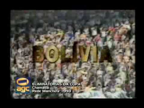 ELIMINATORIAS COPA DO MUNDO 1994 REDE MANCHETE