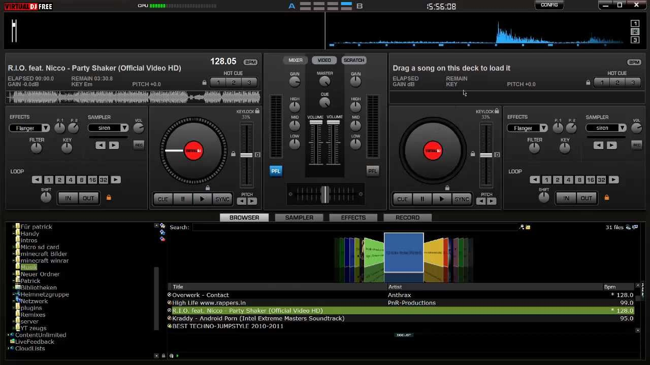 Tutorial Music Mixer Virtual Dj Download Hd German Youtube
