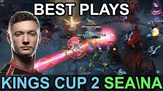 King's Cup 2 BEST PLAYS SEA\NA Highlights Dota 2 by Time 2 Dota #dota2